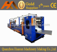 Automatic V-fold Glue Lamination High Speed Good Quality Tissue Making Machine