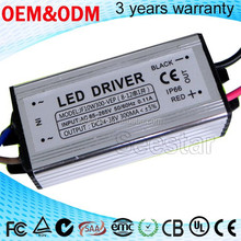 10w 300ma constant current led power supply for street light Aluminum housing waterproof led driver ip67
