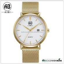 Latest odm design good quality saphire glass simple men quartz wirst watch