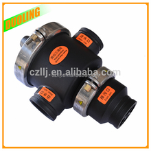 """Low cost DN40 1.5"""" hydro control valve for flow control with plastic injection molding"""