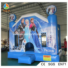 Inflatable frozen bouncy inflatables ,outdoor inflatable games for kids