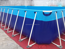 2015 new design commercial promotional child large swimming pool