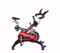 Deluxe Magnetic Upright spin Bike Fitness Gym Cycle Exercise Machine