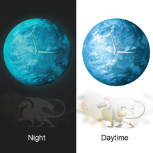 Funlife Modern DIY Plastic Pendulum wall Clocks Dragon Wall Art Decoration wcBD1428