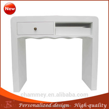 enjoy high reputation in the international market wholesaler nail pedicure table,massage wooden desk with round corner