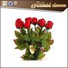 Valentine hollow chocolate rose chocolate manufacturers