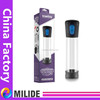 electric penis enlargement pump CE, erection system battery opperated, vibrator penis enlargement vacuum pump
