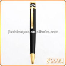 High quality spring twist metal ball pen short ball pen