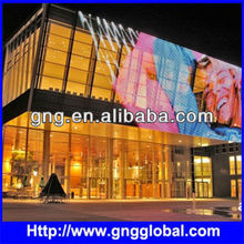 Specialized Design Magic Flexible Louver LED TV Curtain Trivision Display Billboard