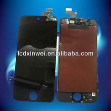 for iphone 5 lcd with digitizer assembly conversion kit with black color