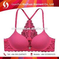 OEM service Beautiful Bra sexy young transparent bra panty girls pics