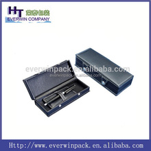 wholesale hot sale PU leather and wood deluxe display pen box