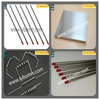 export Henan factory tungsten filament/tungsten electrode/tungsten tube