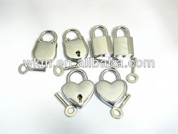 wholesale padlock and key for wedding decor favors
