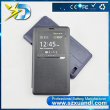 New Products high quality mobile accessories Leather Phone cover Case for xuandi mi note