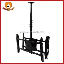 For 32-52 inches screens back-to-back Based Dual Monitor tv wall bracket swivel tilt