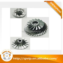 Quality Precision 5 axis cnc machining, cnc milling impeller