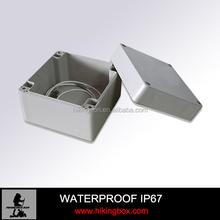 plastic outdoor electrical junction enclosure /abs waterproof box 120*120*90mm