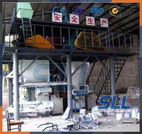 SINCOLA Germany technology bonding mortar production line, dry powder blending