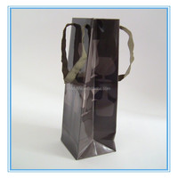 MECY LIFE wholesale cheap high quality custom paper wine bottle gift bag