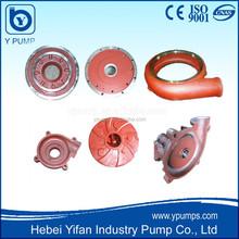 slurry pump rubber components, slurry pump parts, centrifugal pump components