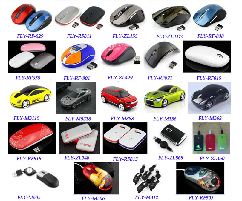 2.4G silicone wireless mouse, funny computer mouse cute computer mouse