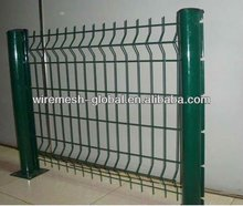 on promotion and very popular PVC Spraying Coated Curvy welded fence