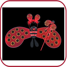OEM light up bee wings costume carnival wings for promotion PGAC-0781