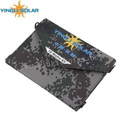 5W~14W Folding Portable Solar Package with PVC Waterprrf fabrics
