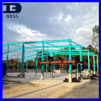 Low Cost Metal Structure Modular Warehouse in Columbia