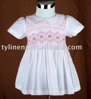 Hand Smocking & Embroidery Dress
