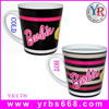 2015 Innovative products V shape promotional gift magic color changing coffee mug