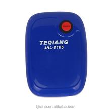 Long life rechargeable 18650 lithium battery minimum AC/DC air pump