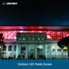 Outdoor LED Media Facade : UNIVEW FO FOS Sereis