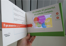 Cheap High End Digital Video Greeting Card 4.3 inch Video Card