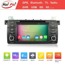 For BMW E46 Car Navigation 2 Din Android 4.4.4 RK3188 Quad-core Car Navigation With Mirror Link OBD2