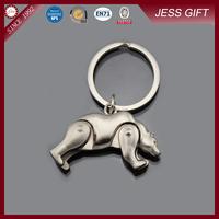 2015 cheapest animal shaped metal keychain key chain