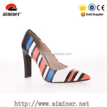 HOT SALE for dress shoes new fashion women SHOES with printed