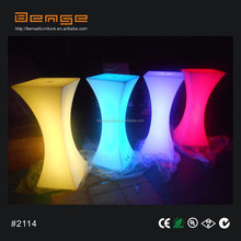 rental wholesale plastic furniture, LED bar counter