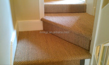 Sisal capret for home stair, sisal carpet for traffic area