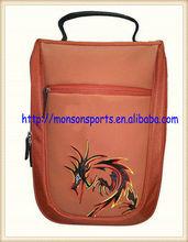 women men promotional golf shoe bag travel storage ventilated tote bag zip bag