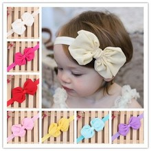 Baby girl chiffon bow headbands children hair accessories