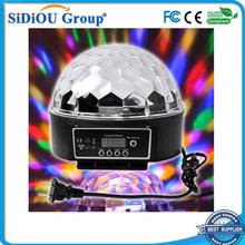 dmx led ball lights magic spinning ball