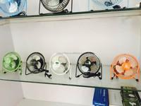 Hot sale DC5V 4 inch 6inch mini TABLE FAN 100% copper wire motor UL approval