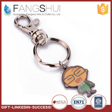Fcatory direct selling souvenir keychains key ring the ring is free