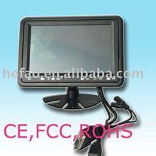 7 Inch Touch Screen VGA AV Car Monitor(Touch/AV/VGA)