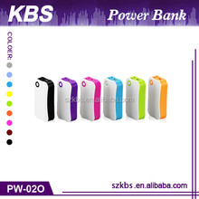 Best Selling Portable Mobile Power Bank 5200Mah With LED Light