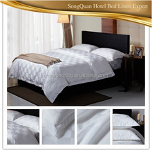 Poly-cotton Material 3 Star Hotel Popular Poly-cotton Material 3 Star Hotel Popular 300t Flat Sheet Wholesale Hotel Bed Linen