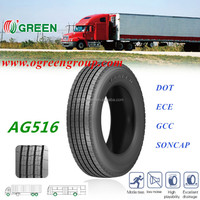 2015OGREEN HOT SALE best brand in china 215/75R17.5 truck tyre made in china AG299