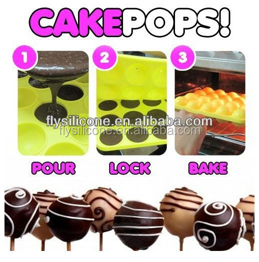20 Cavities Silicone Cake Chocolate Craft Candy Baking Mold